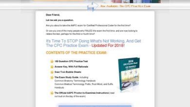 Photo of CPC Practice Exam