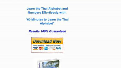 Photo of Learn the Thai Alphabet in Minutes. Learn Thai Font, Thai Symbols and Tones, for Travelling in Thailand