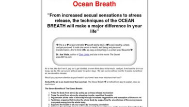 Photo of Revolutionary Breathing Technique Relieves Stress and Helps Relax – The Ocean Breath