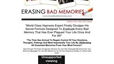 Photo of Erase Bad Memories
