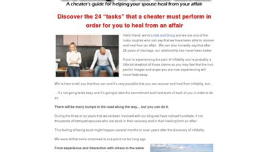 Photo of Healing From An Affair: A Cheater's Guide For Helping Your Spouse Heal