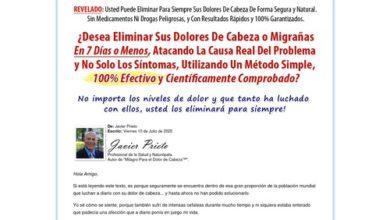 Photo of Milagro Para El Dolor De Cabeza Por Migraña – 90% De Comisión!