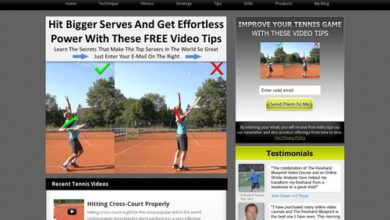 Photo of Online Tennis Instruction Home – Online Tennis Instruction – Learn How To Play Your Best Tennis, Free Tennis Tips