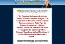 Photo of Milagro para los Quistes Ováricos (TM) – Los Secretos para Curar Sus Quistes Ováricos Holísticamente