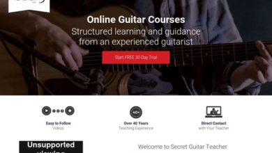Photo of Take Online Guitar Lessons with the Secret Guitar Teacher