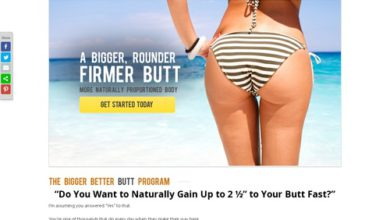 Photo of The Bigger Butt Workout Program – How to Get Bigger Butts & Natural Bigger butts
