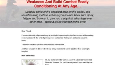 Photo of Revealed: Disabled Marine Shows Men Over 40 How To Eliminate Weakness And Build Combat Ready Conditioning At Any Age…