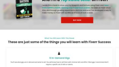 Photo of Fiverr Success – How to make money on Fiverr e-book