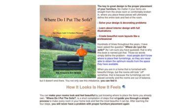 Photo of Where Do I Put The Sofa? – The Key To Great Design