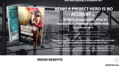 Photo of New Project Management Method Ebook With Bonuses To Drive Conversions
