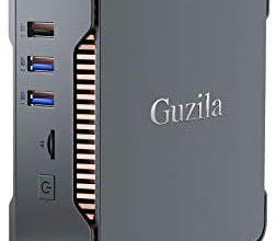 Photo of GUZILA Mini PC,Intel Celeron J4125 Processor(up to 2.7GHz) Windows 10 Pro Mini Desktop Computer with 8GB DDR4/120GB ROM,Support Triple Display,Gigabit Ethernet,Dual Band Wi-Fi,Bluetooth 4.2,4K HD