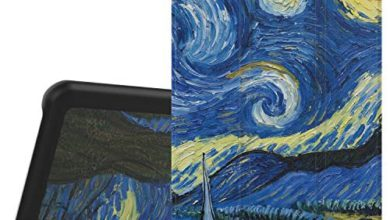 Photo of MoKo Samsung Galaxy Tab A 7.0 Case – Ultra Lightweight Slim-Shell Stand Cover Case for Samsung Galaxy Tab A 7.0 Inch Tablet 2016 Release(SM-T280 / SM-T285 Version ONLY), Starry Night