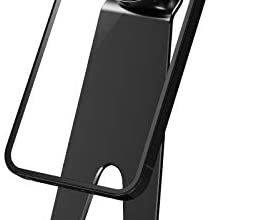 Photo of Cell Phone Stand – [Upgraded] Aluminum & Magnetic Multi-Angle Adjustable Desktop Phone Holder Dock Cradle Compatible with iPhone 12 Pro Max Xs XR 8 Plus 7 6, iPad,Android Phones (Black)