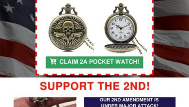 Photo of Claim this 2nd Amendment Pocket Watch!