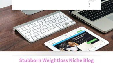 Photo of Weight Loss Niche Blog | Turnkey Niche Blogs