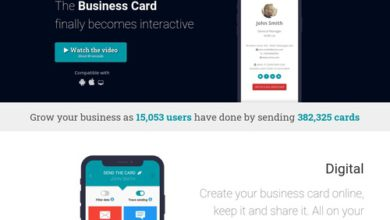 Photo of Kipin – The digital business card on your smartphone