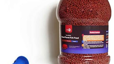 Photo of toyuto inc 1 KG Fish Colour Color Enhancing Red Parrot & Cichlid Fish Feed Food