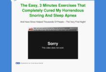 Photo of Stop Snoring Exercise Program cb vsl | Blue Heron Health News